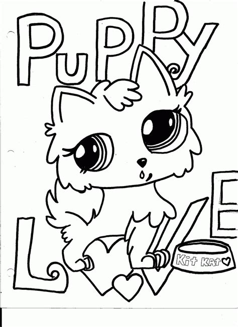 coloring pages of littlest pet shop dogs littlest pet shop coloring pages coloring home