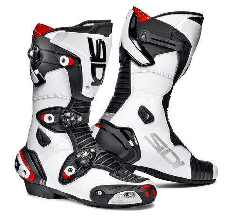 sidi motocross sidi mag 1 boots black white free uk delivery