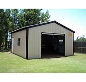18 X 21 9 All Vertical Garage  Choice Metal Buildings