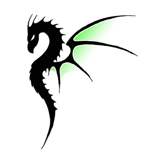 simple dragon tattoo designs by rakhel on deviantart
