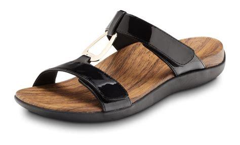 orthotic shoes orthaheel layla ii orthotic sandals free 2 3 day