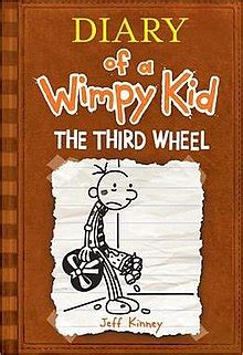 diary of a wimpy kid the third wheel book report diary of a wimpy kid the third wheel