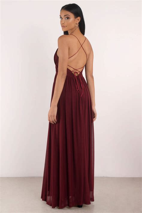 Kasandra Longdress mauve dress pleated dress v dress sweep dress