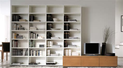 libreria laccata libreria componibile a parete su misura artik