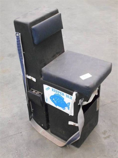 Keeper Deluxe Ice Fishing Chair by Loretto Equipment 265 In Loretto Minnesota By Loretto