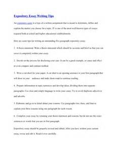 example of a thesis for an expository essay cover letter