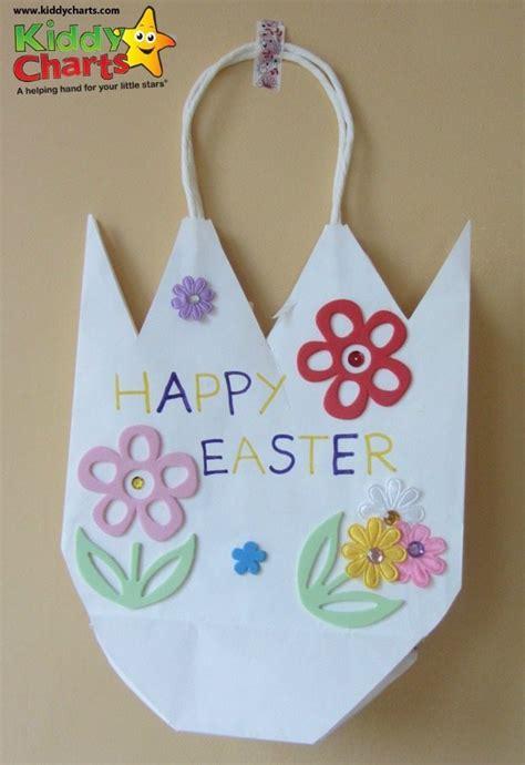 easter basket craft easy tulip or cracked egg easter basket craft for kids