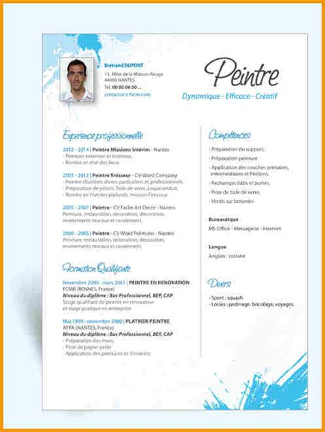 Lettre De Motivation De Peintre En Batiment 7 Cv Peintre En Batiment Lettre Administrative