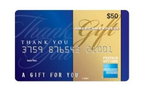 American Express Gift Card Deals - free 10 american express gift card with 50 prepaid card purchase