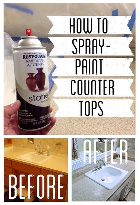 17 Best ideas about Spray Paint Countertops on Pinterest