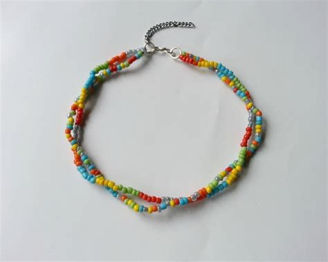 Bead Anklet diy seed bead payel 183 how to make an anklet 183 jewelry on