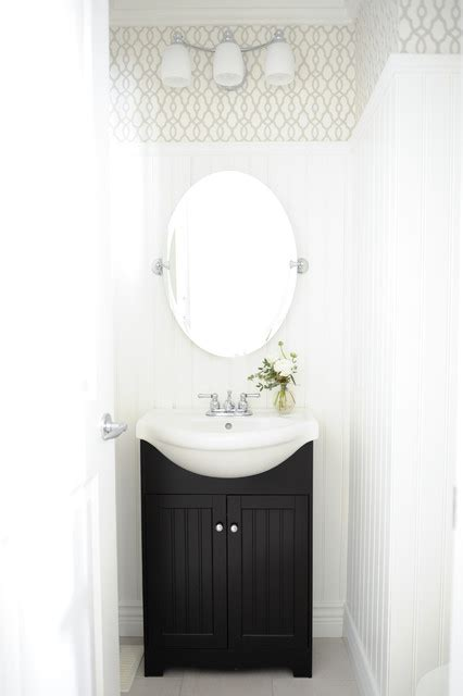 Simply Home Decorating by Serene Family Home Transitional Powder Room