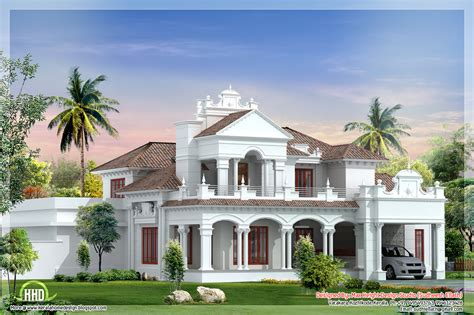 Colonial Home Designs 3100 Sq Colonial House Plan Kerala Home Design And