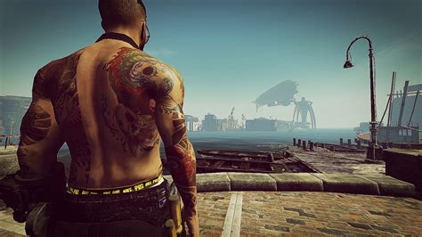 yakuza tattoo sims 4 yakuza tattoos male standalone fallout 4 mod cheat fo4