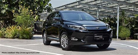 Toyota Harrier 2 0 toyota harrier 2 0 luxury or a cheap date directasia