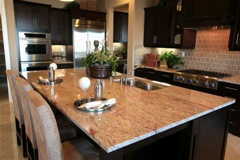 Choosing A Countertop by Kitchen With Black Cabinets And Undermount Sink Choosing