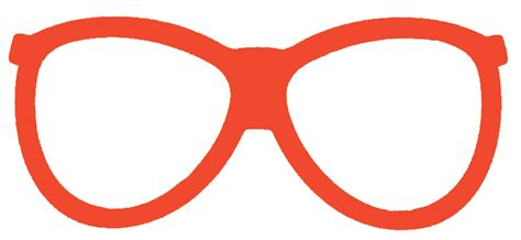 eyeglass template glasses template clipart best