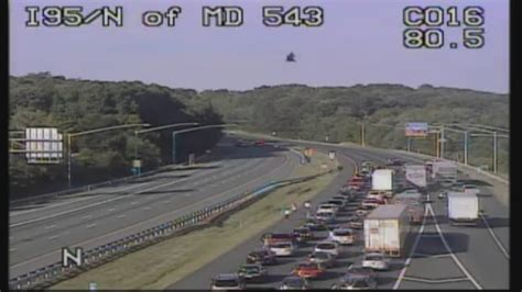 maryland house rest stop serious accident shuts down all lanes on i 95 near md rest stop baltimore news