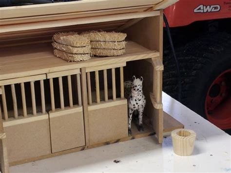 stall schleich schleich stall i made for my things i