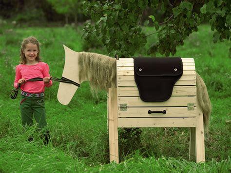toom baumarkt garten pferd aus holz selbst bauen