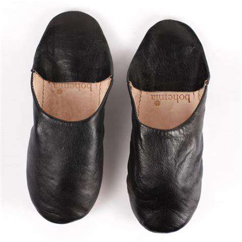 s leather slippers leather babouche slippers s collection by bohemia