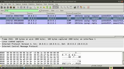 wireshark tutorial capture network traffic capture mininet traffic using wireshark youtube