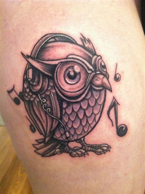 tattoo owl music 45 staggering small tattoos creativefan