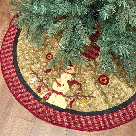 primitive christmas tree skirt new items