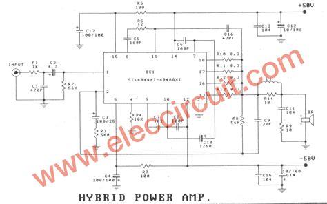about circuit hybrid power lifier circuit 100w 150w using stk 4048