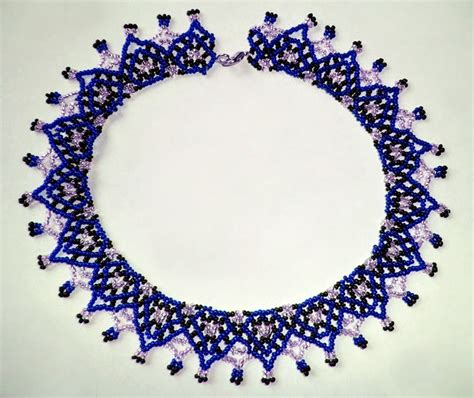 beadsmagic free pattern for beaded necklace iren