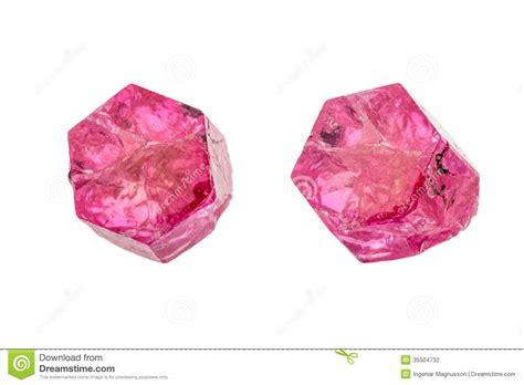 Pink Beryl Bixbite 7 80ct beryl emerald or bixbite stock photography