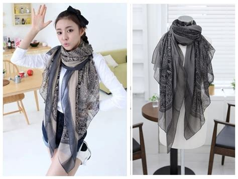 Pretty Scarves For by Aliexpress Buy Totem Patchwork Pattern Novelty