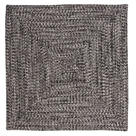 8 ft braided rugs home decorators collection marilyn tweed zebra 8 ft x 8 ft square braided rug ca29r096x096r