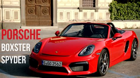 porsche boxster red 2016 porsche boxster spyder guards red youtube