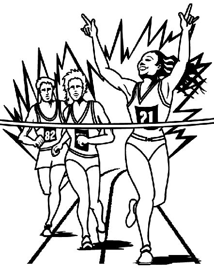 crayola coloring pages sports running coloring page crayola com