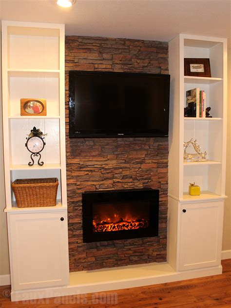 Fireplaces Norwich by Stack Veneer Creative Faux Panels