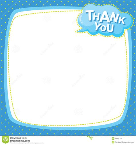 Thank You Letter Paper Note Paper Thank You Royalty Free Stock Photography Image 24034137