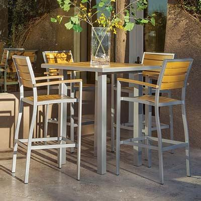outdoor patio bar furniture metal patio furniture sets pieces the home depot