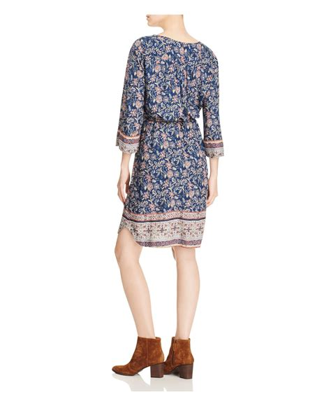 Beachlunchlounge Dress by Lyst Lunch Lounge Floral Print Dress In Blue