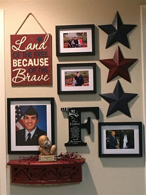 military home decor took an idea from pinterest and made it my own since i had