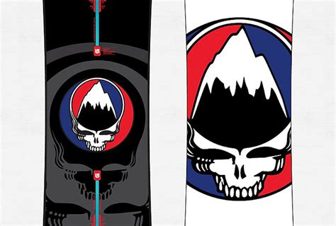 Tshirt Burton Easy Livin Putih grateful dead collaborated with burton to develop dead themed quot easy living quot snowboards