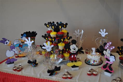 Mickey Mouse Birthday Decorations by Tx Scrapper Mickey Mouse Clubhouse Birthday