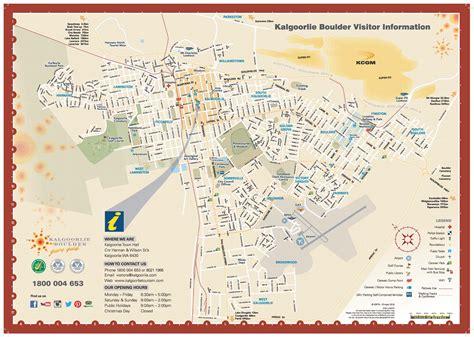 map of map of kalgoorlie boulder kalgoorlie boulder tours