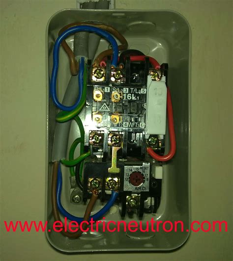 l t dol starter circuit diagram wiring diagram with