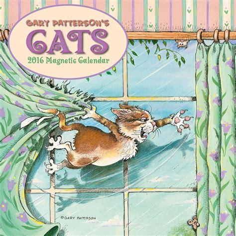 2018 gary patterson s cats wall calendar day gary patterson cats 2017 magnetic mini wall calendar