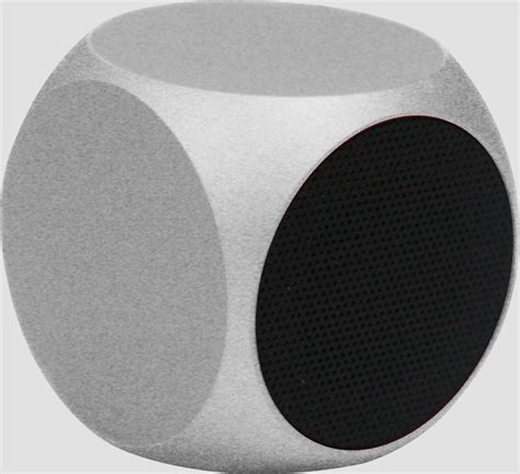 Speaker Qube matrix audio qube speaker smaller then a golf extravaganzi