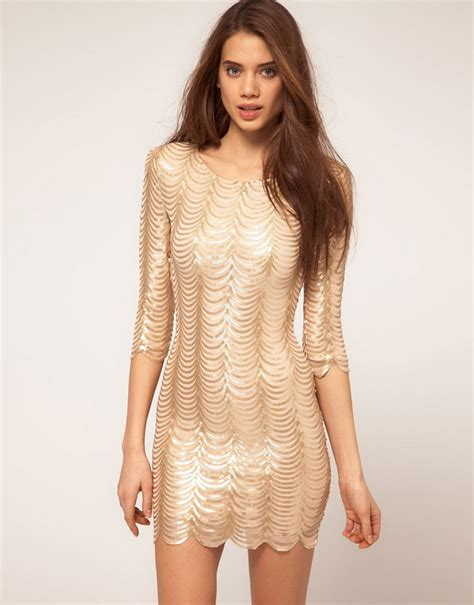 Gold Dresses Make Holidays Nicer by S Fall Winter 2012 Collection