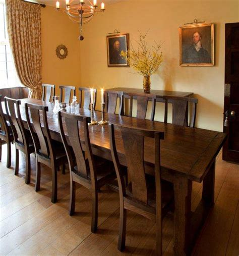 14 Seater Dining Table Langford Fivehead 14 Seater Oak Refectory Tables Quercus Furniture