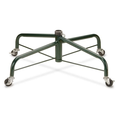 christmas tree stand with wheels national tree company 32 in folding tree stand with rolling wheels for 9 ft to 10 ft trees
