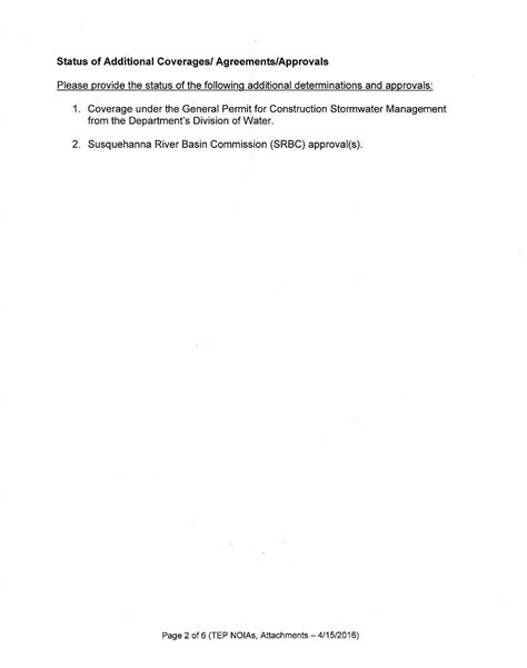 Explanation Letter For Incomplete Documents Nysdec Letter To Tioga Energy Partners Re Notice Of Incomplete Application For Propane